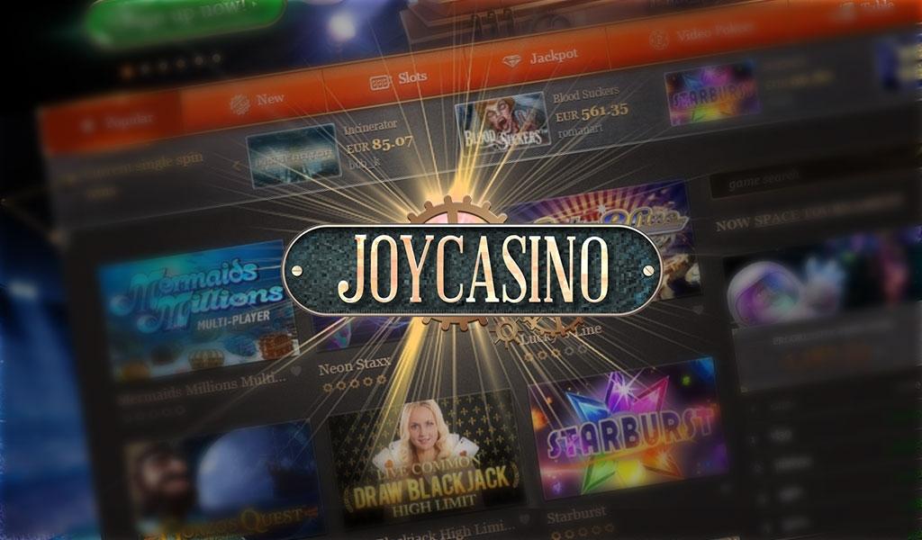 официальный сайт играть в казино джойказино